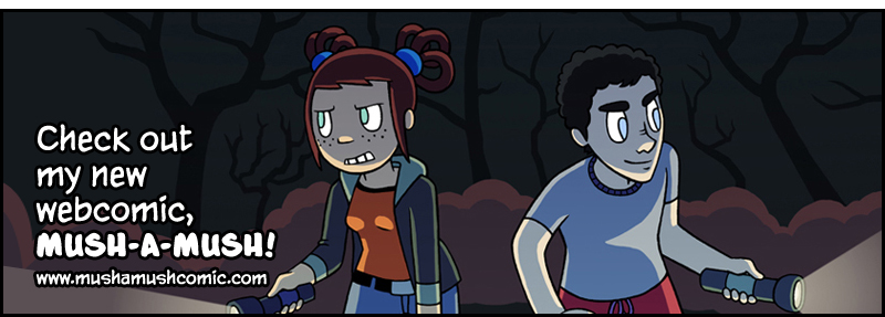 Check out my new webcomic Mush a Mush